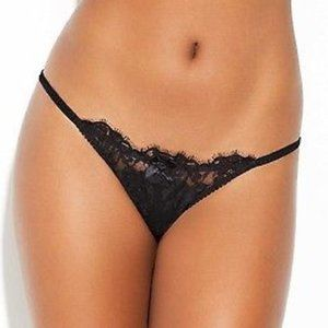 NWT L'Agent by AP AMALEA Black Brief Panty L